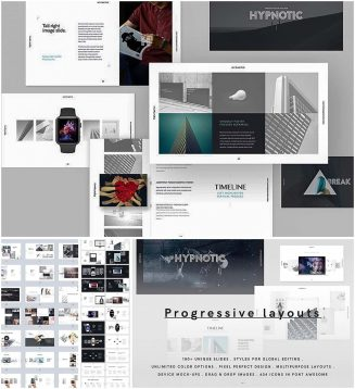 Modern presentation builder hypnotic