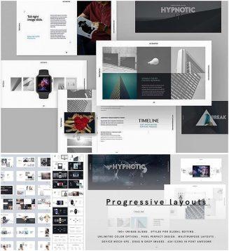 Modern presentation builder hypnotic