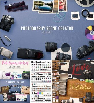 Photography scene generator