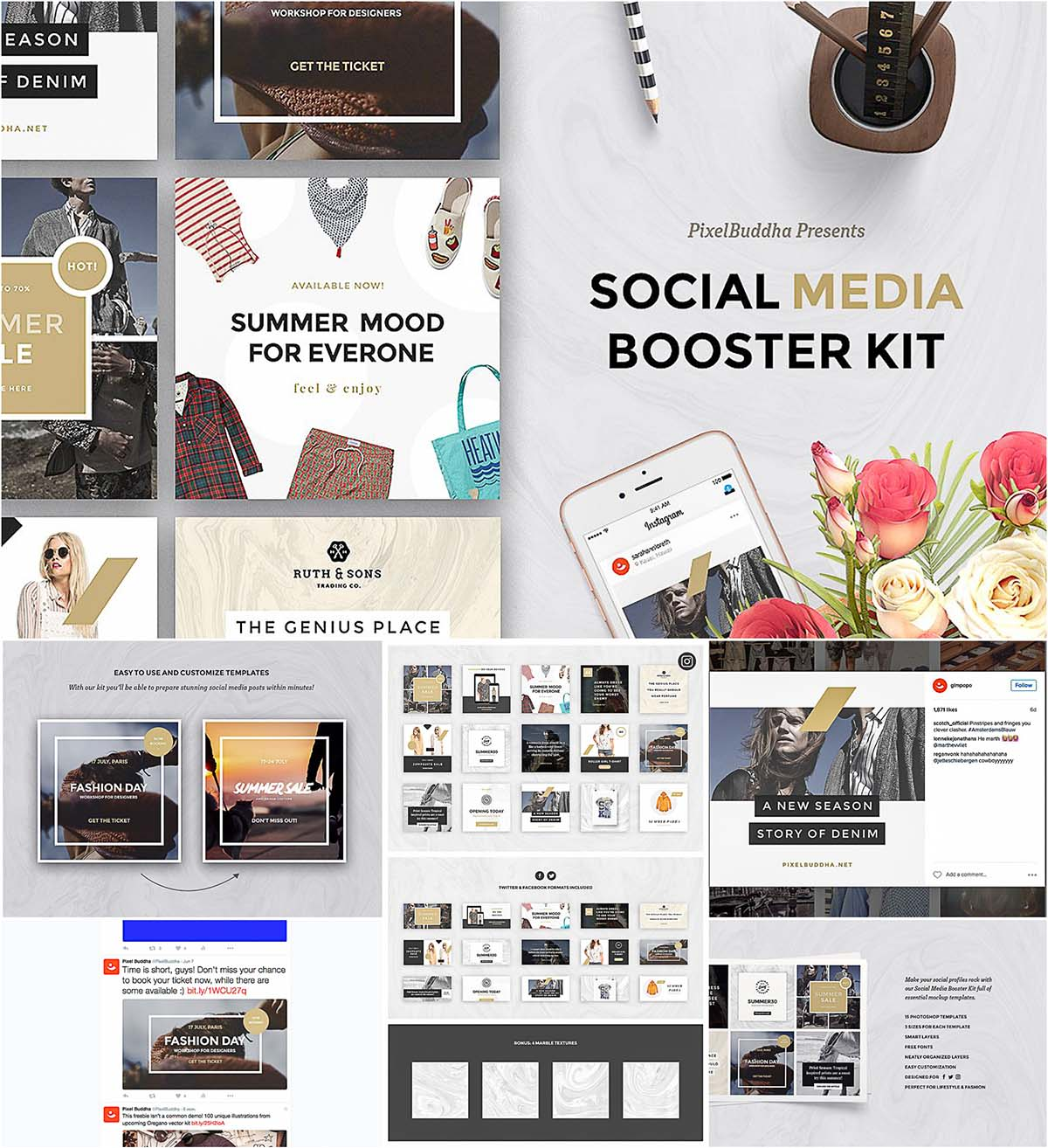 Social media booster kit free download social media booster kit pronofoot35fo Image collections