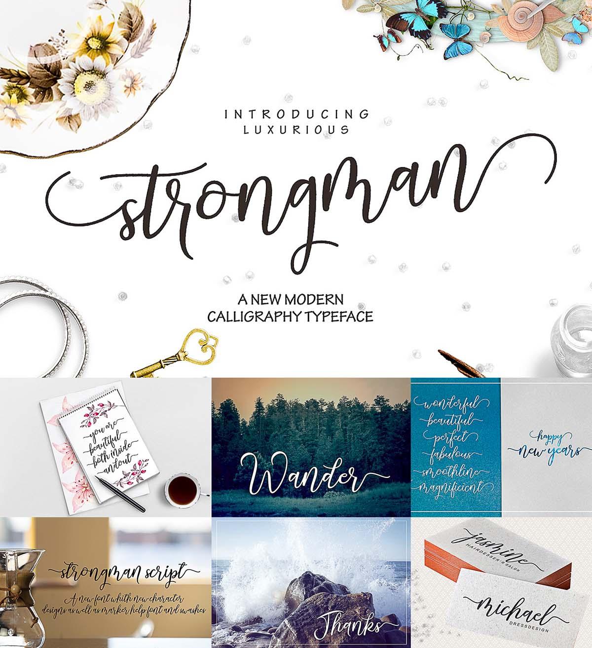 Strongman font