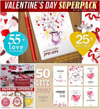 Valentines day superpack
