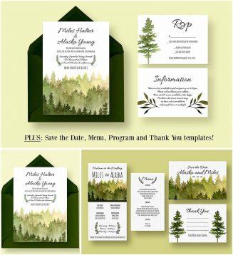 In the woods wedding suite
