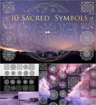 esoteric symbols set