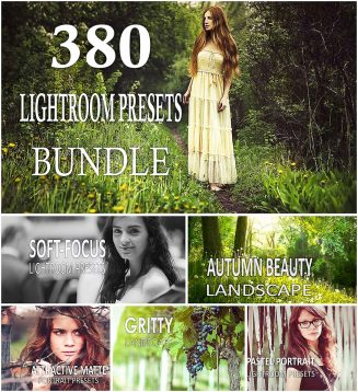 380 Lightroom presets bundle