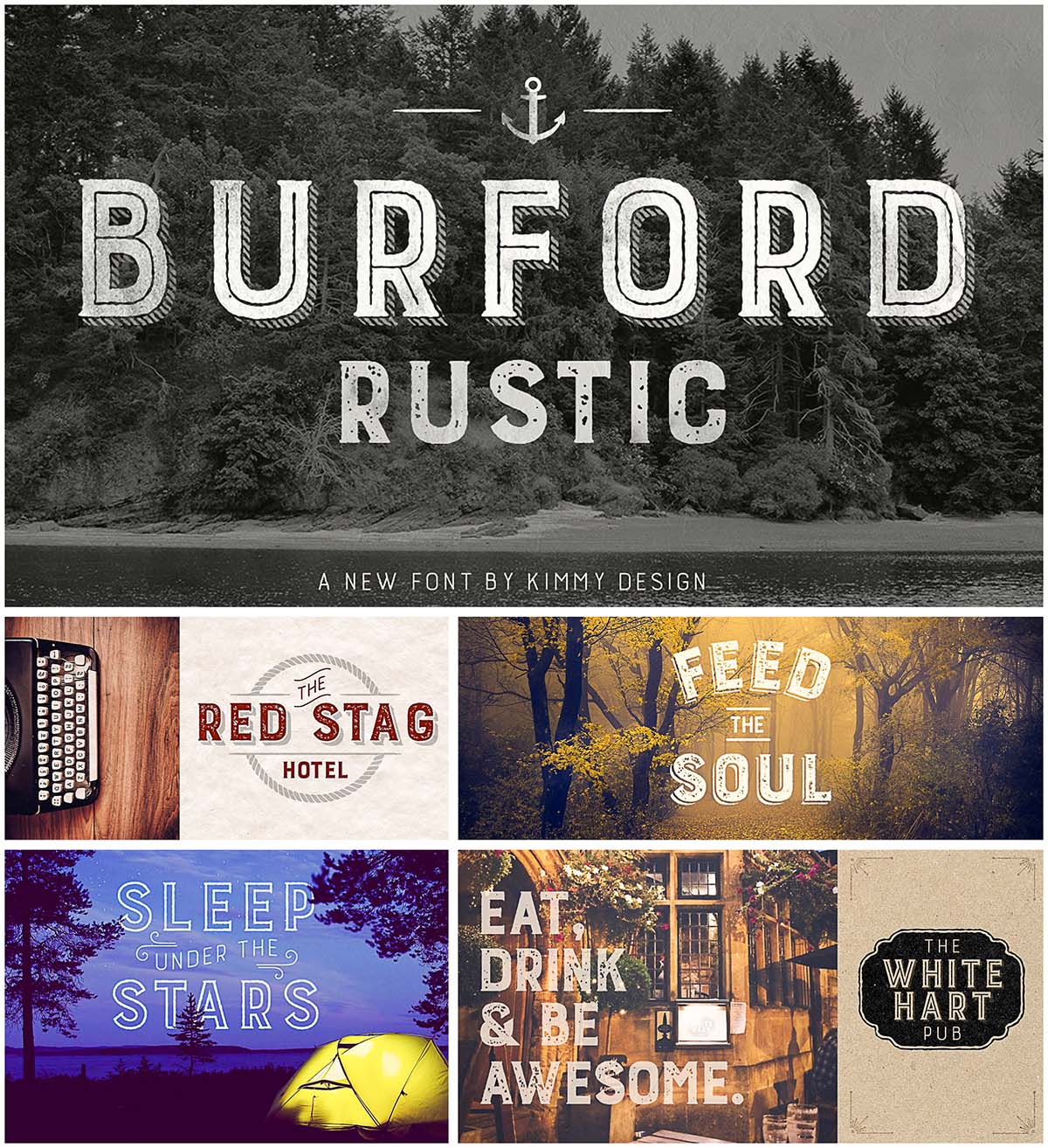 Burford font family