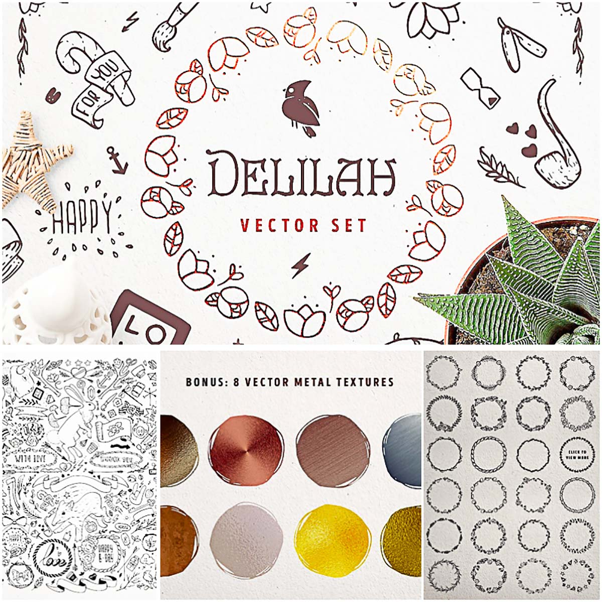 Delilah vector set