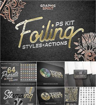 Foiling styles and actions