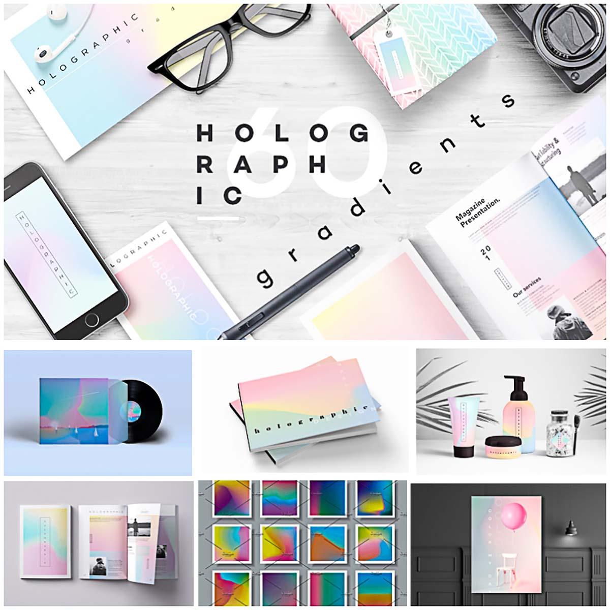 Holographic gradient