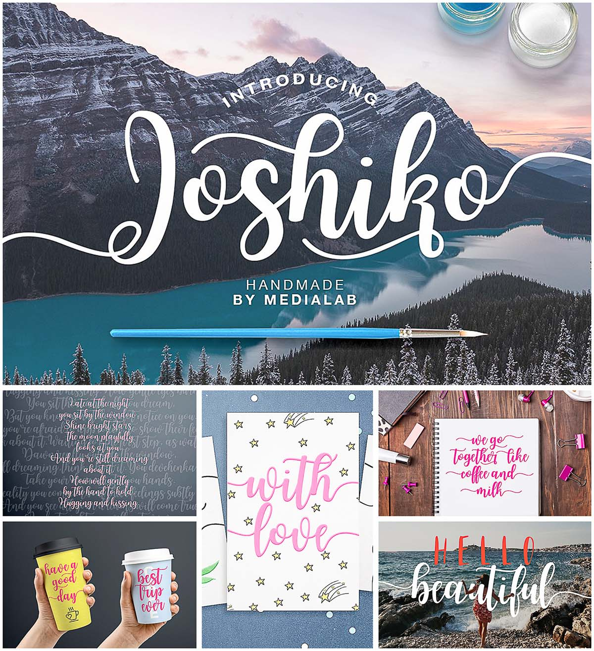 Joshico typeface