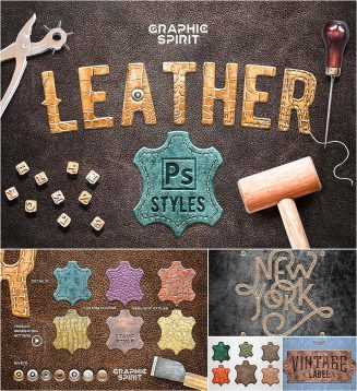 Leather layers and styles for PS