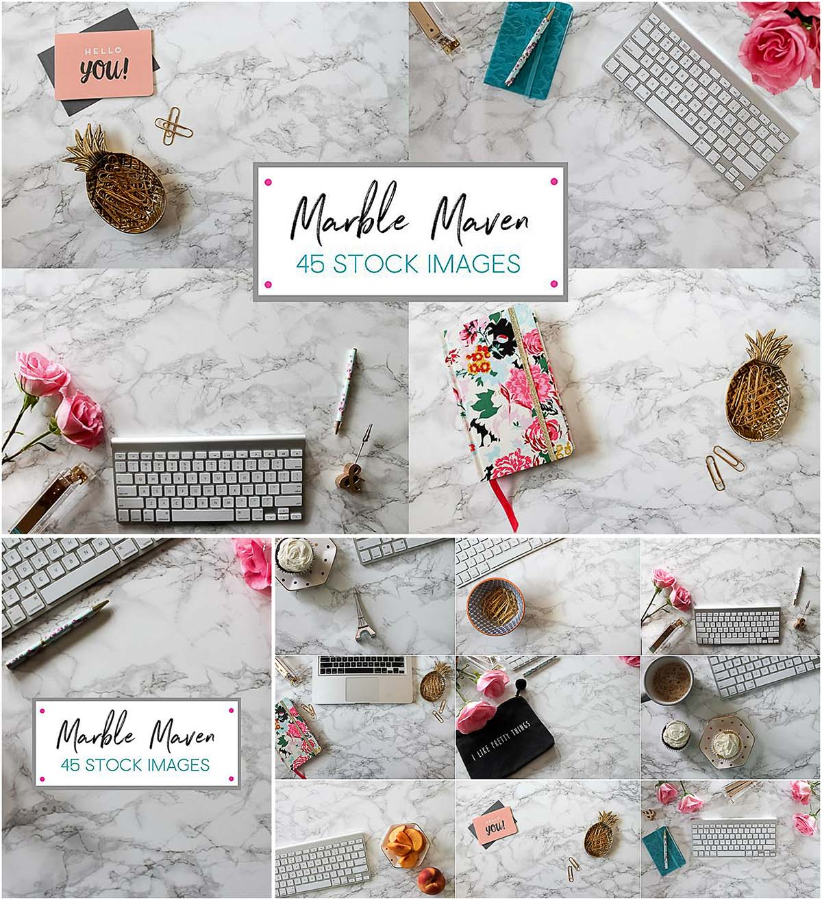 Marble styled photos