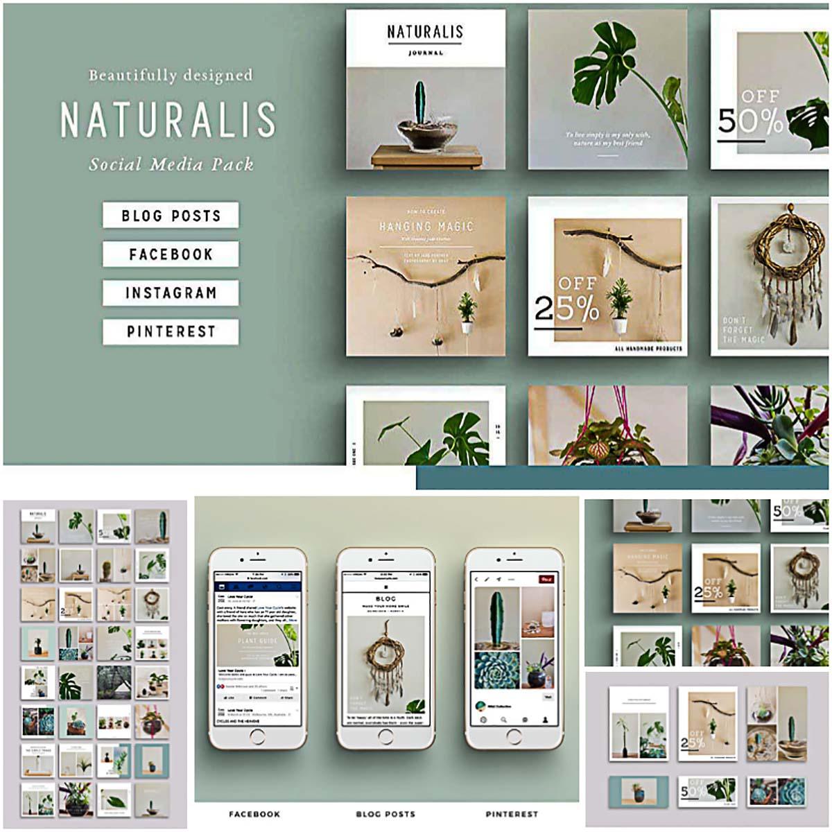 Naturalis social media banners
