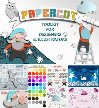 Papercut toolkit for ps