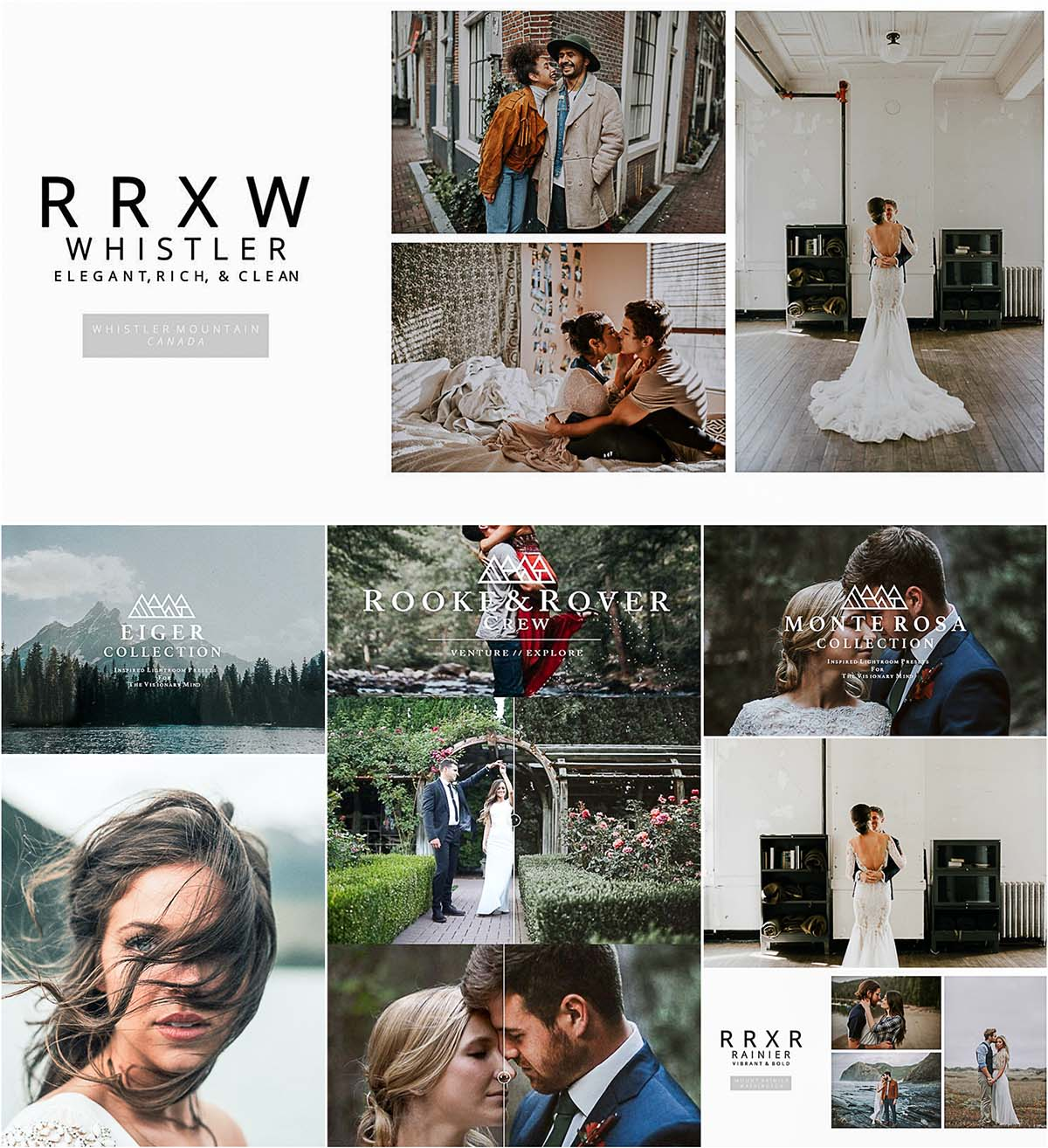 RR Lightroom presets set