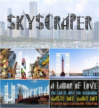 Skyscarper font