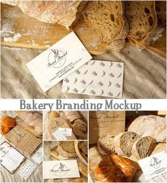 Bakery logo mockup