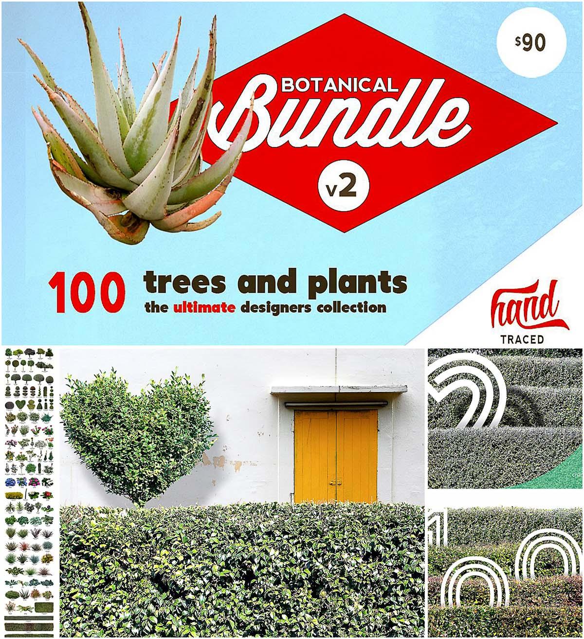 Trees and plants bundle