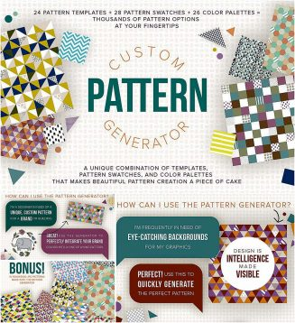 Custom pattern creator