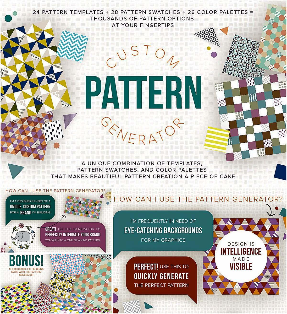 Custom pattern creator