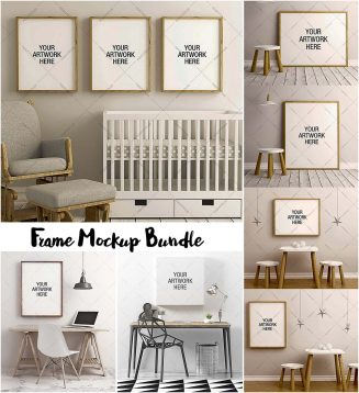 Frame mockups big bundle
