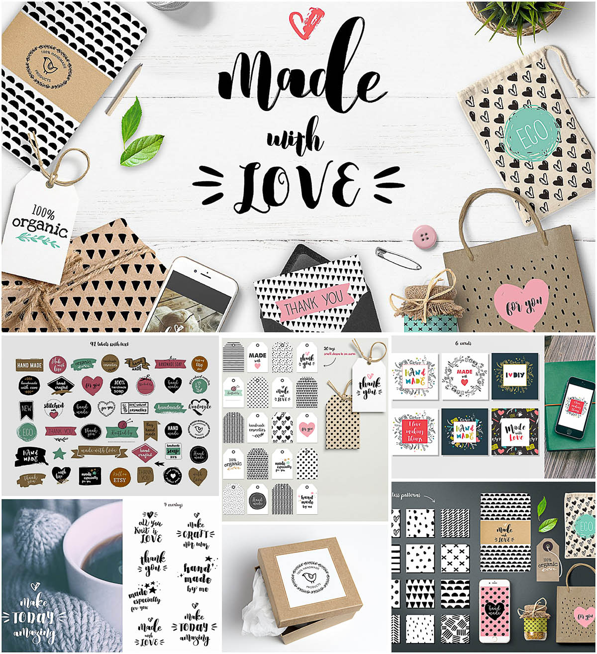 handmade craft diy bundle