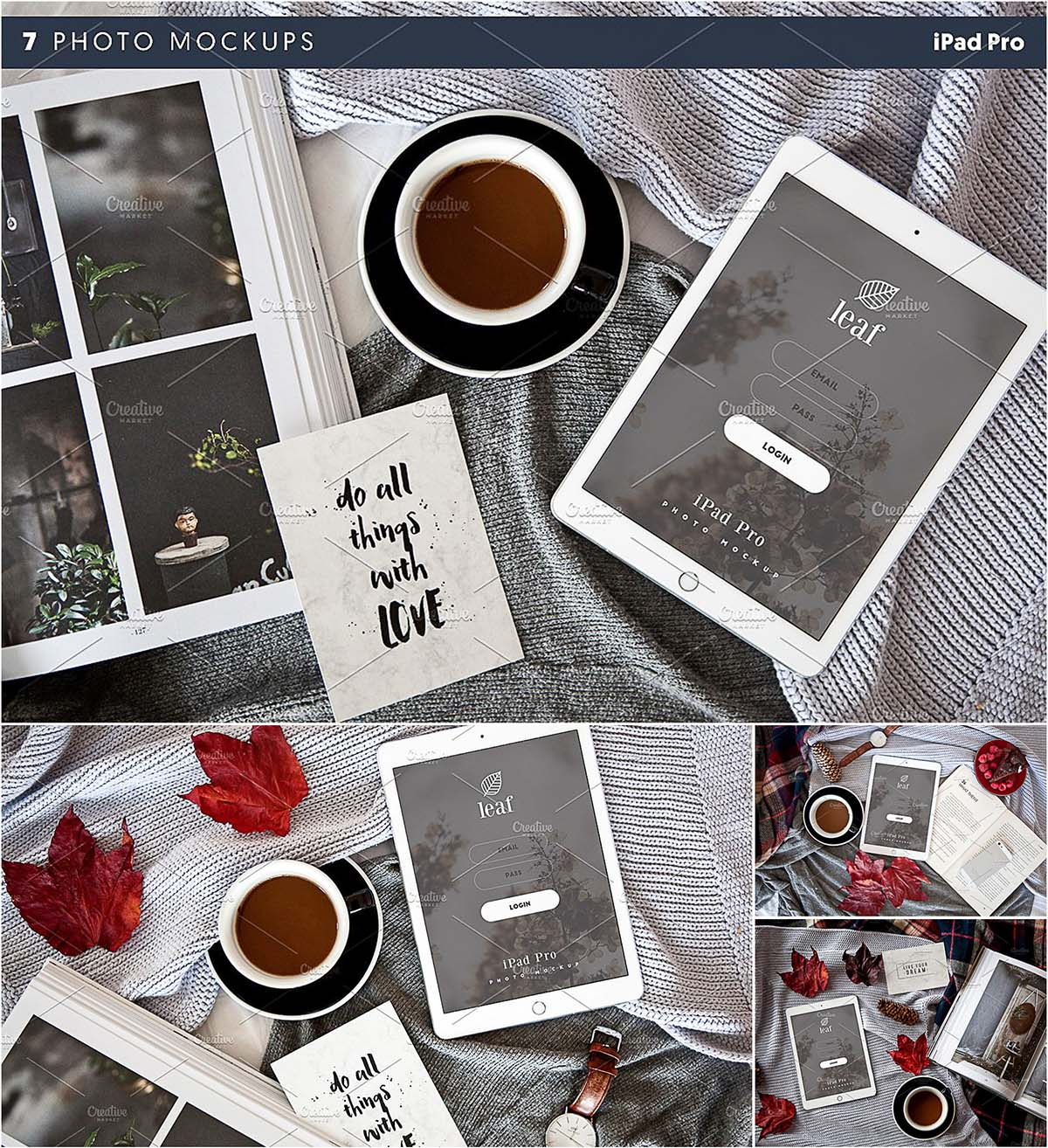 ipad photo mockups pro