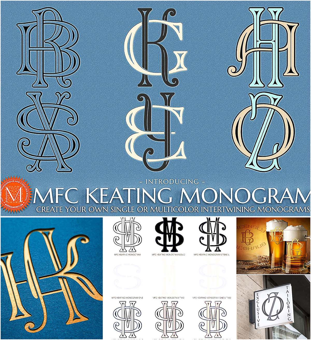 Keating monogram