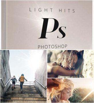 Lens distortion light hits