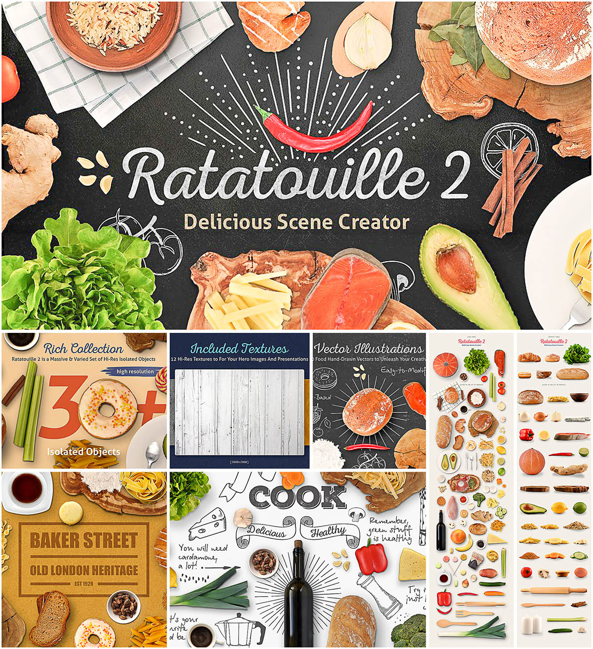 ratatouille delicious scene creator