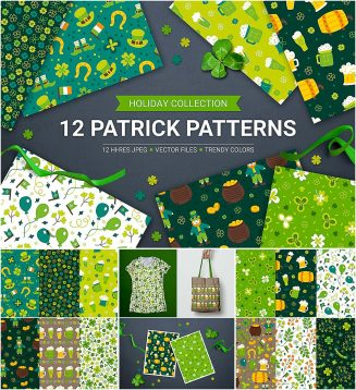 Patricks day pattern