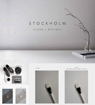 Stockholm photoshop action