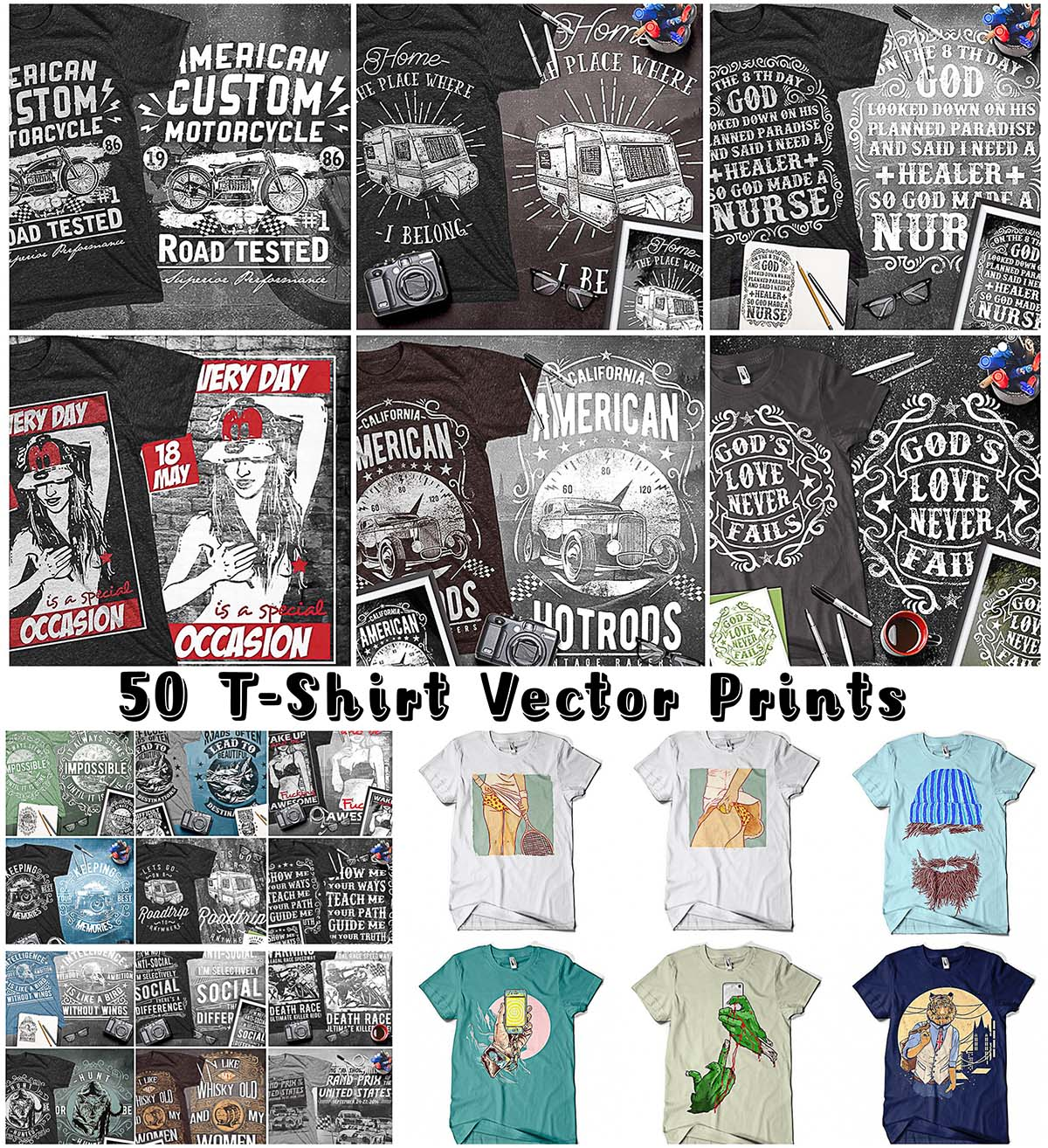 T-Shirt vector bundle