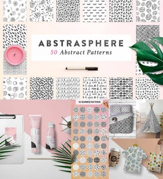 50 atmosphere seamless patterns