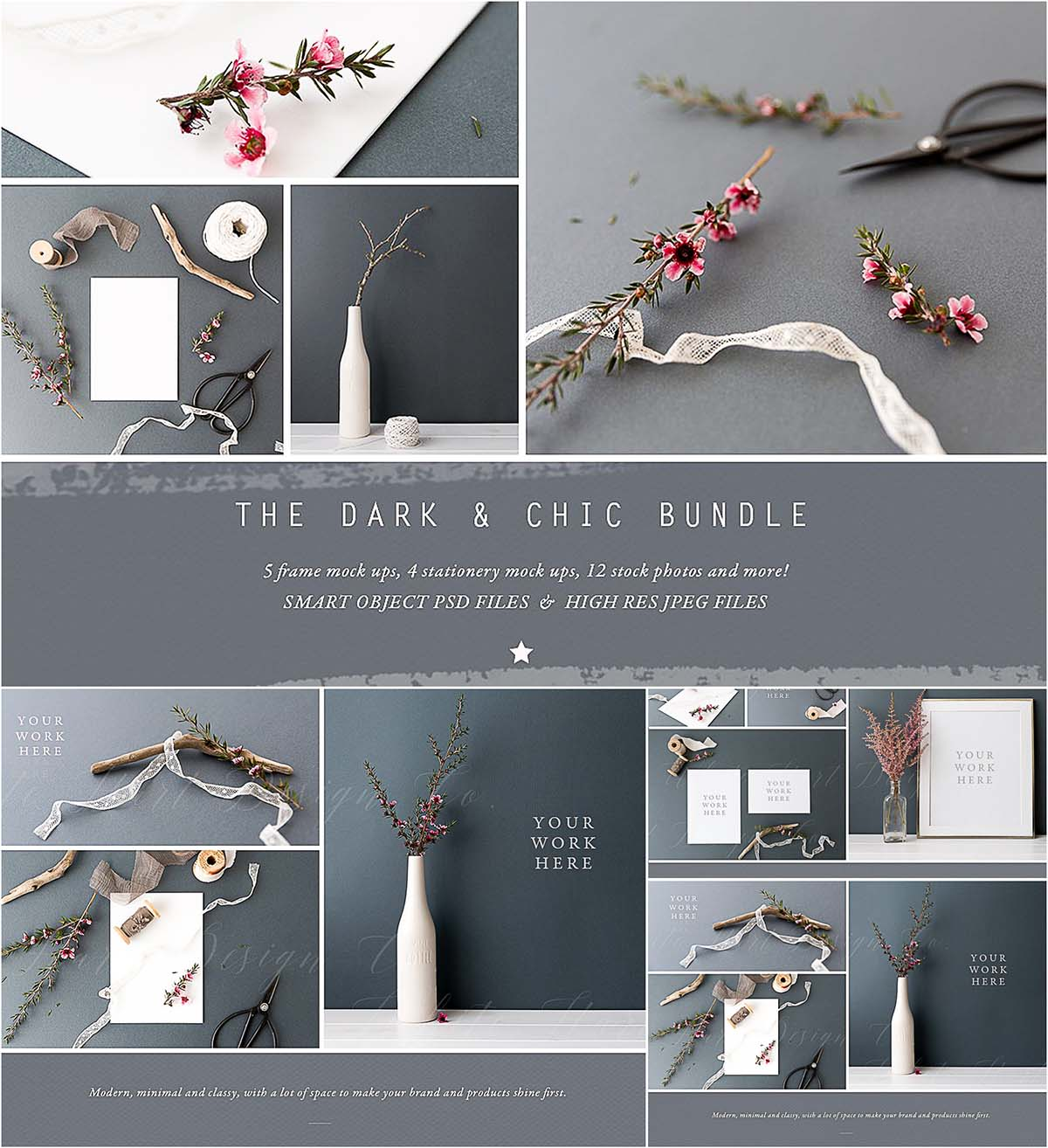 Chic mockup bundle