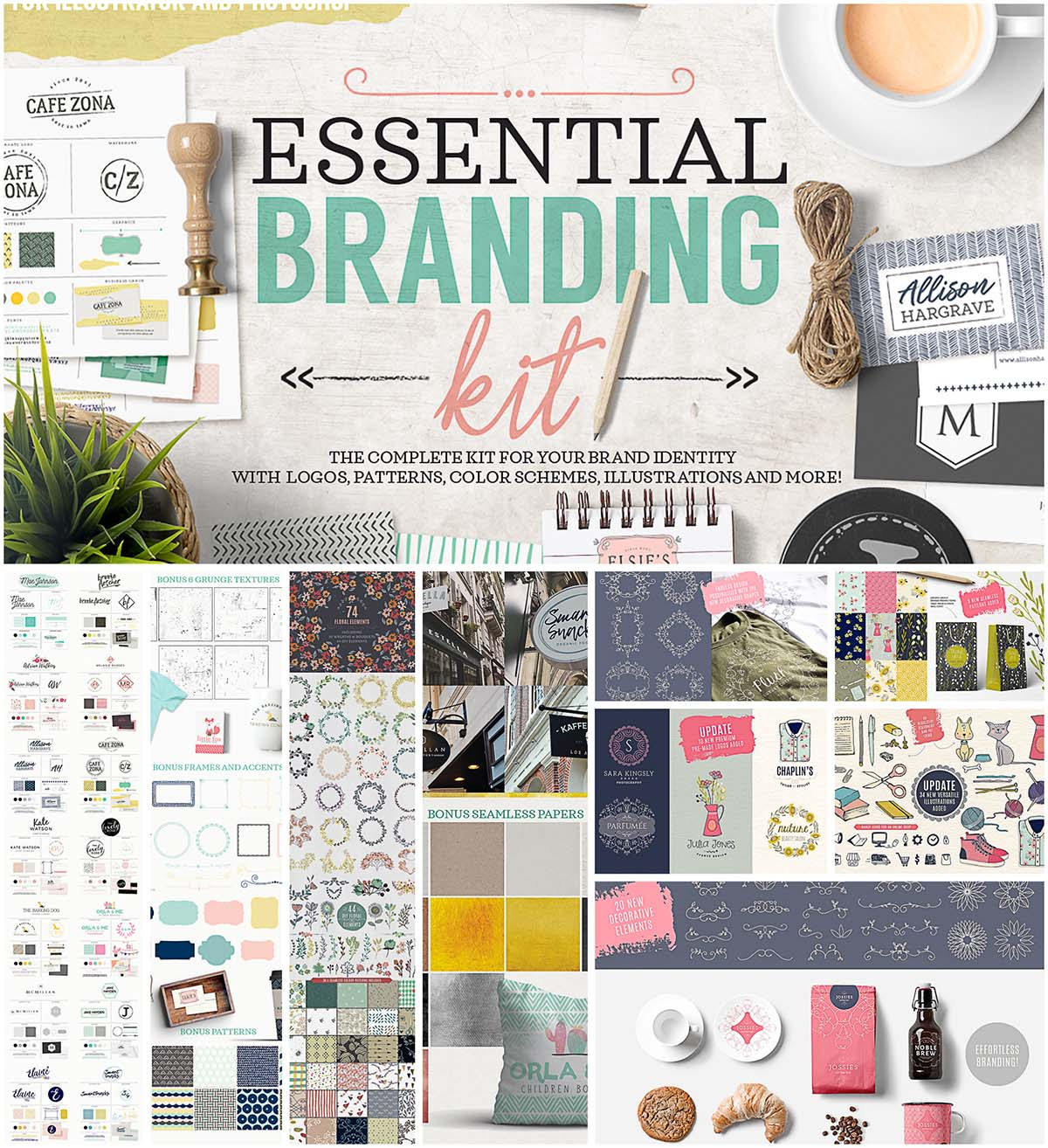 Branding kit essentials