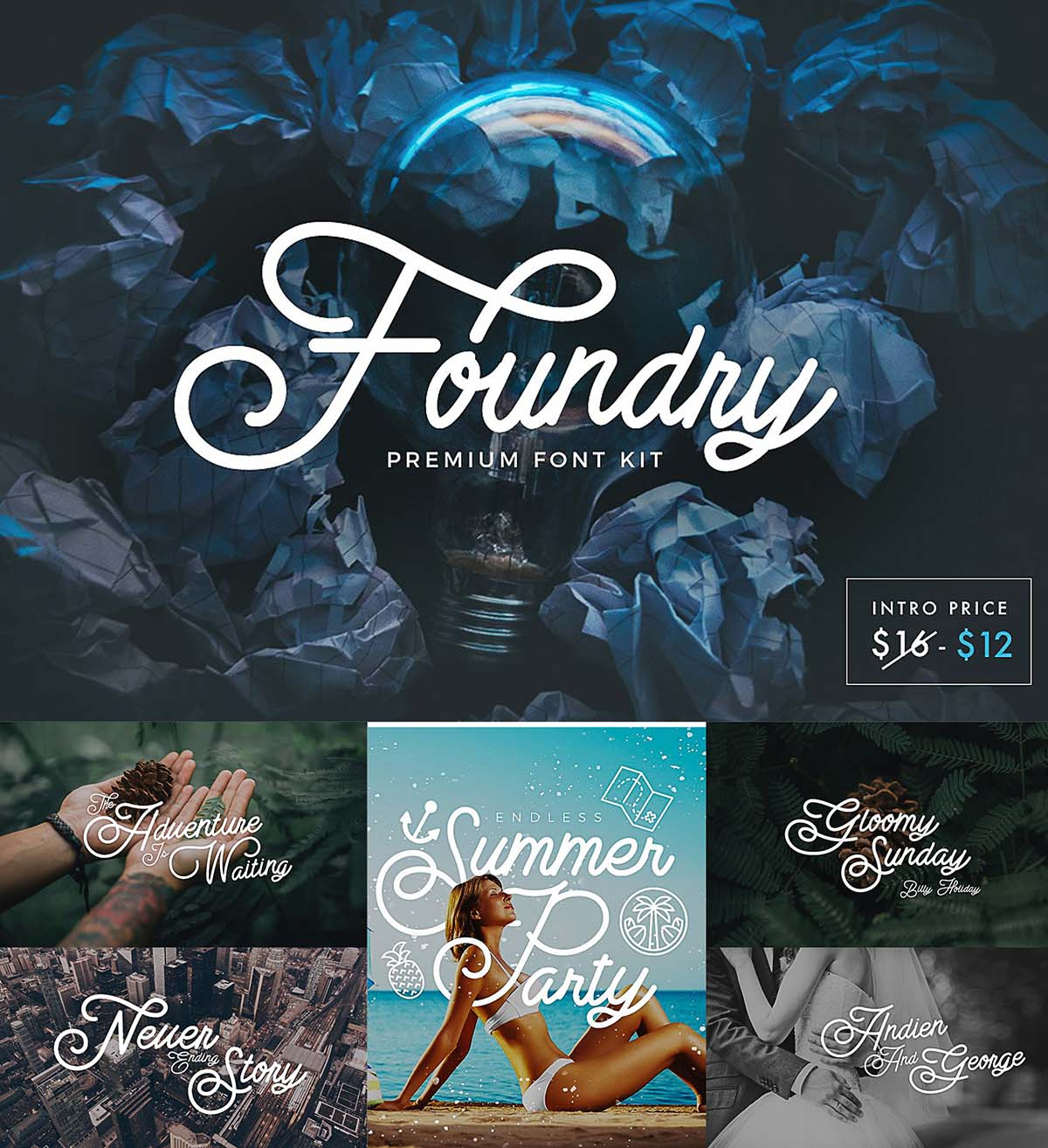 Foundry font