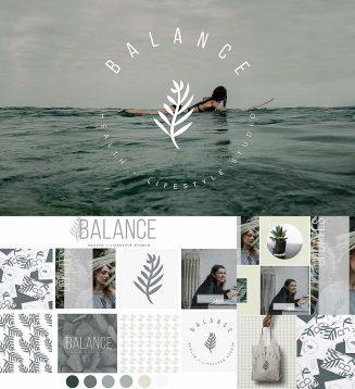 Balance logo brand kit