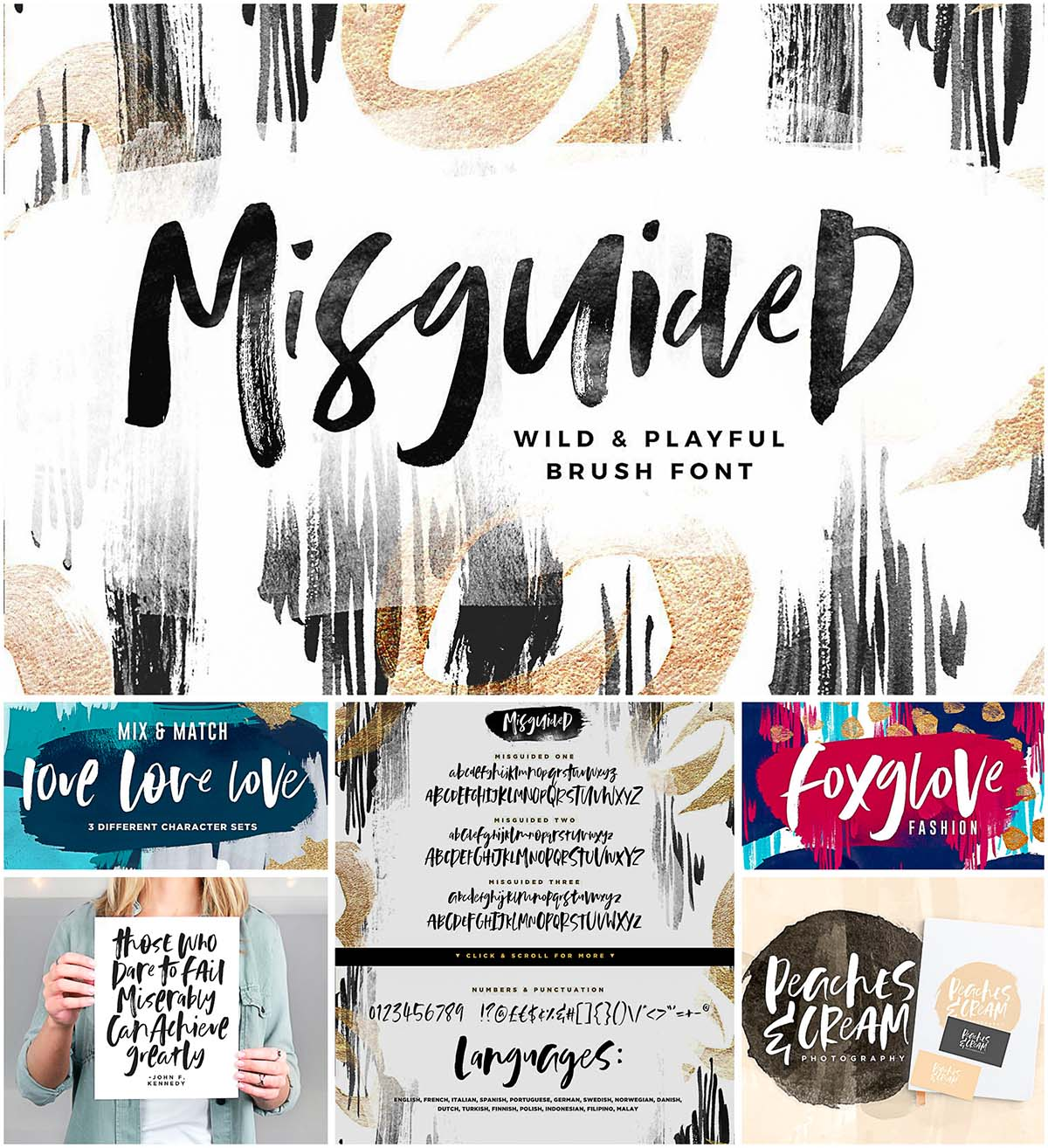 Misguided font
