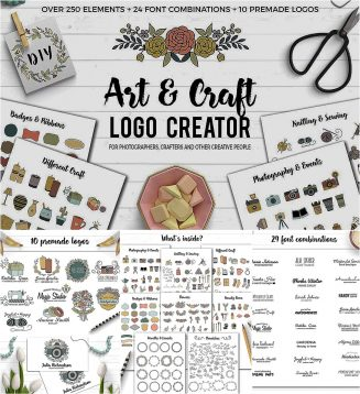 Craft logo creator