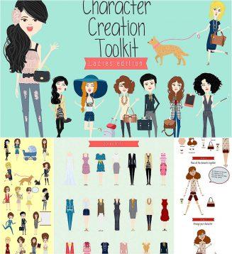 Ladies character creation kit