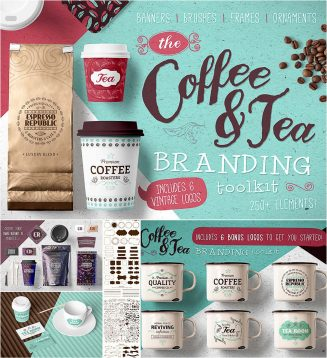 Tea and coffee branding toolkit