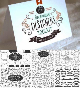 Decorative designers toolkit + bonus
