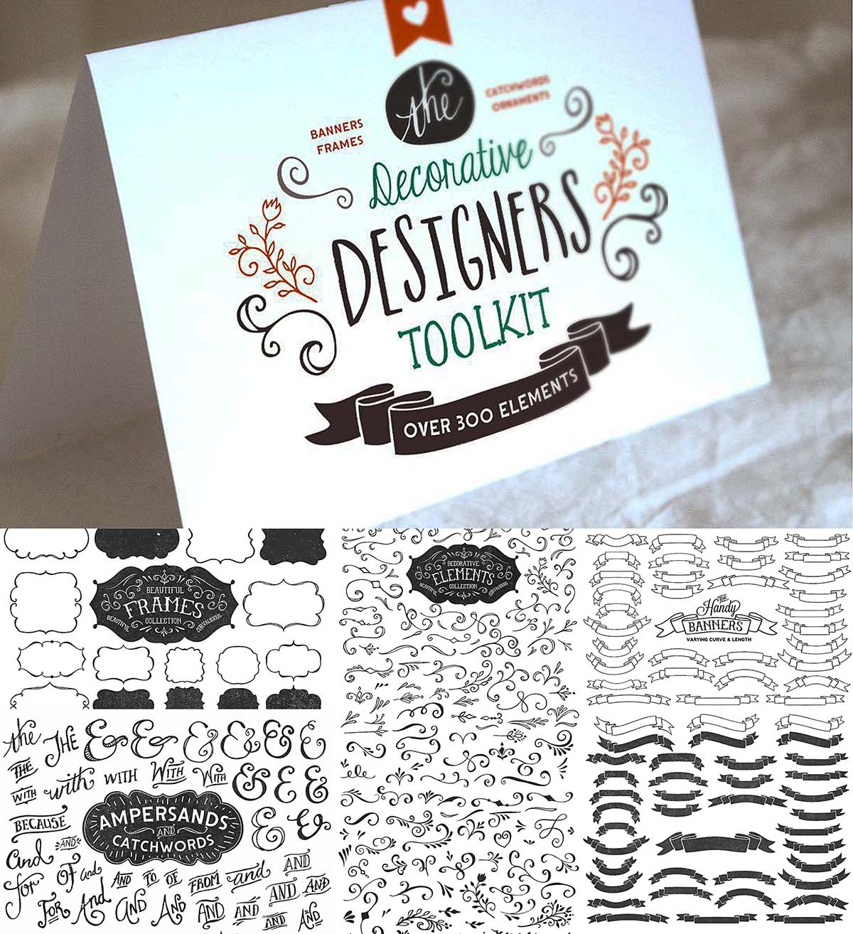 Decorative designers toolkit + bonus