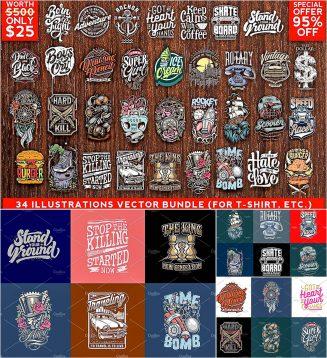 34 illustrations vector bundle