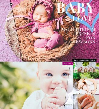 Newborn lightroom presets collection