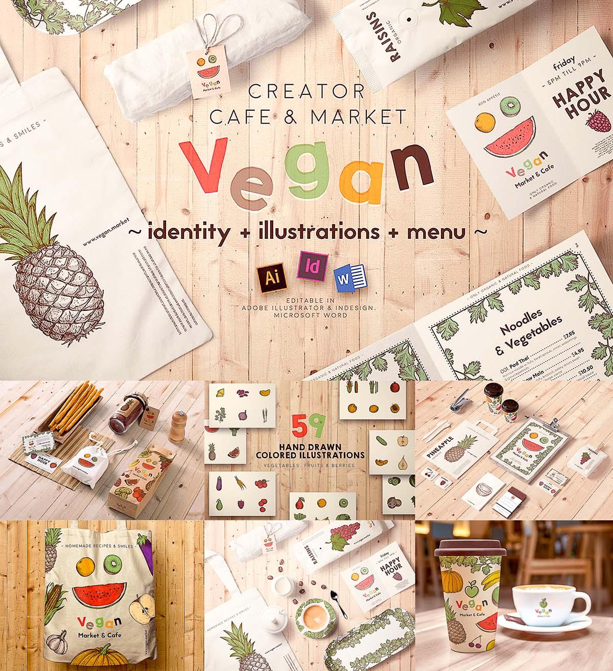 Vegan restaurant creator
