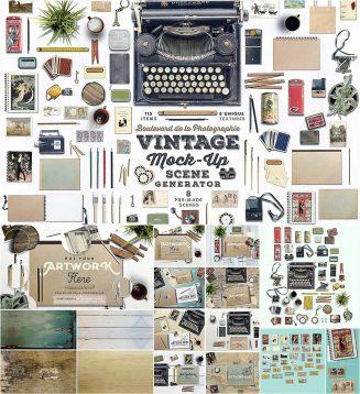 Vintage scene generator