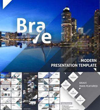 Minimalist Brave powerpoint presentation