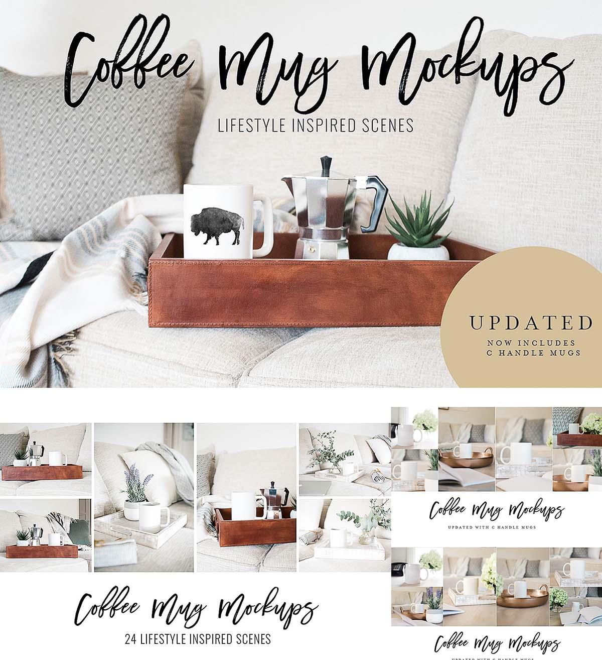 Coffee mug stock photo collection